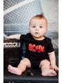 ACDC Baby Grow AC/DC Logo Colour