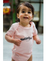 Motörhead Baby Grow Logo Pink photoshoot