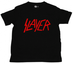 Slayer Kids T-shirt Logo Red