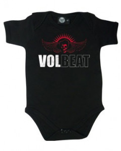 Volbeat baby grow Skull Wing (Clothing)