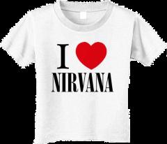 Nirvana Kids T-Shirt Love (Clothing)