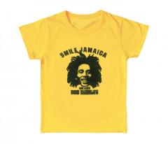 Bob Marley Kids T-shirt Smile Jamaica (Clothing)