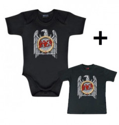 Giftset Slayer Baby Grow Silver Eagle & Slayer Baby T-shirt Silver Eagle