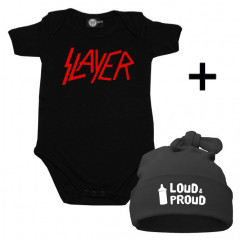 Infant Giftset Slayer Creeper infant/baby & Loud & Proud Hat