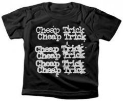 Cheap Trick Kids T-Shirt Stacked Logo