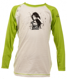 Amy Winehouse baby Baseball Longsleeve