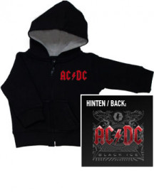 Baby Hoodies ACDC Black Ice Zip