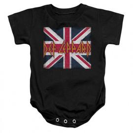 Def Leppard Baby Grow Lil Union Jack