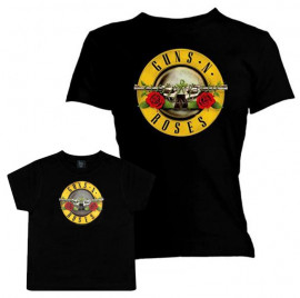 Duo Rockset Guns N' Roses Mother's T-shirt & Guns N' Roses T-shirt Kids