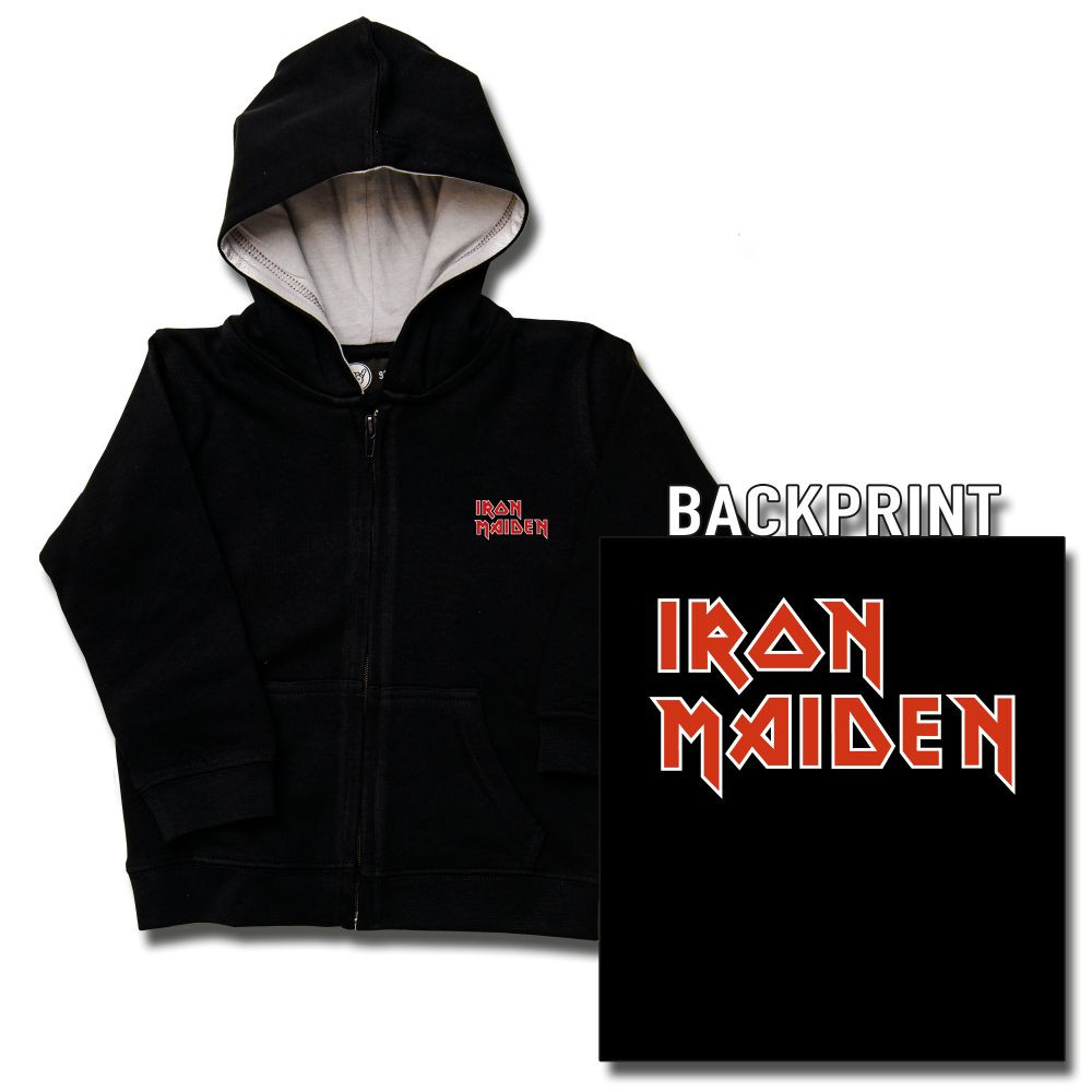 Iron Maiden Baby Logo sweater (Print On Demand)