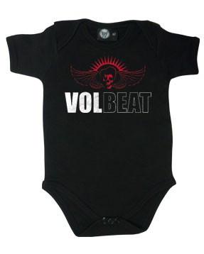 Volbeat baby grow Skull Wing (Clothing)