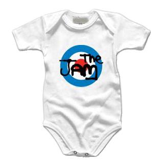 The Jam Baby Grow Target Logo