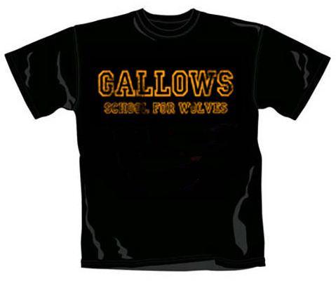 Gallows Kids T-shirt School For Wolves