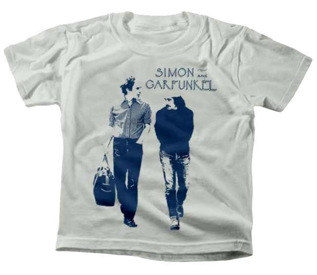 Simon and Garfunkel Kids T-Shirt Walking