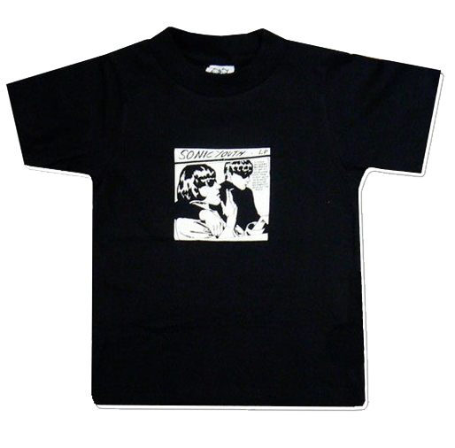 Sonic Youth Kids T-shirt Black Goo (Clothing)