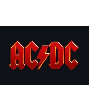 AC DC Onesie Logo colour Baby