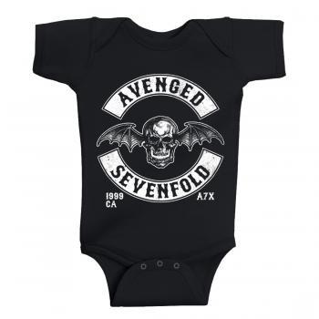 Avenged Sevenfold Baby Grow Deathbat Est 1999