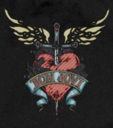 Bon Jovi Baby Onesie Heart Baby
