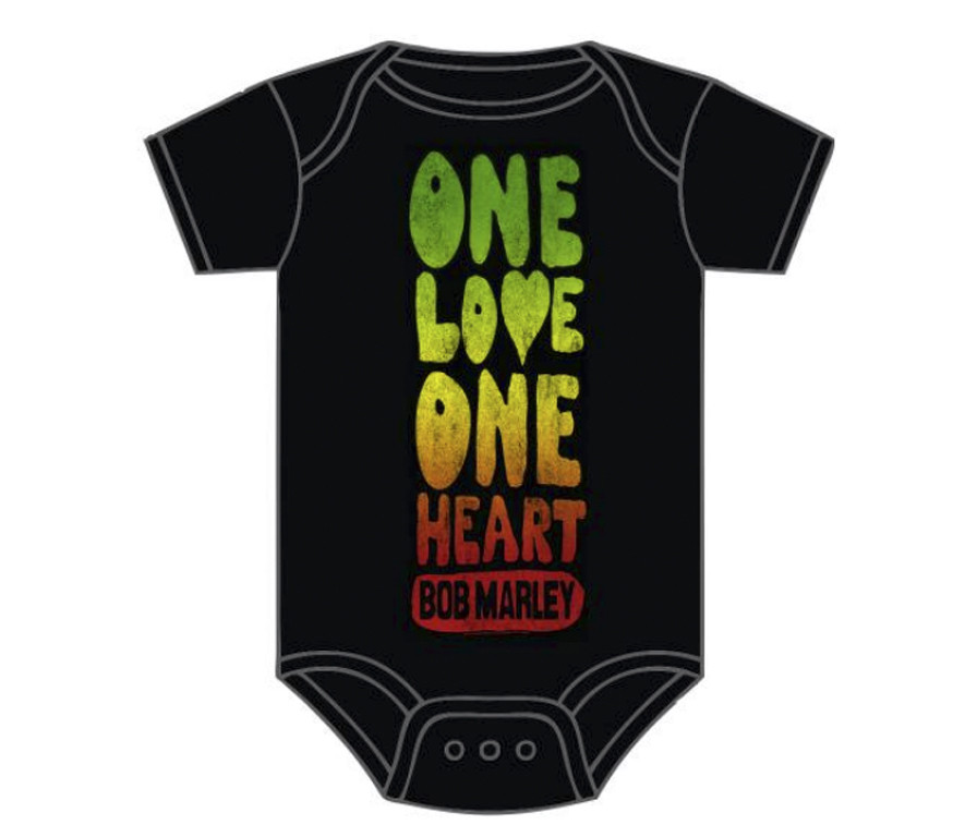 Bob Marley Baby Grow One Love One Heart