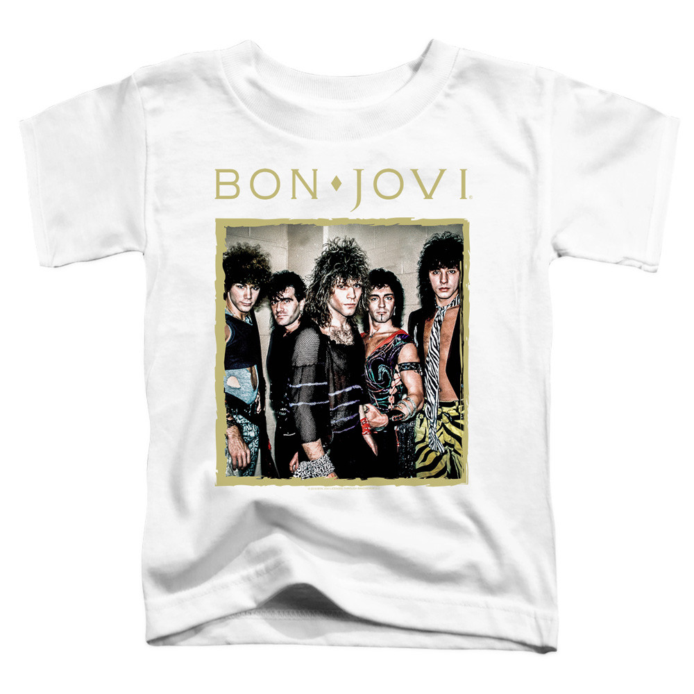 Bon Jovi Kids T-Shirt Photoshoot Band White