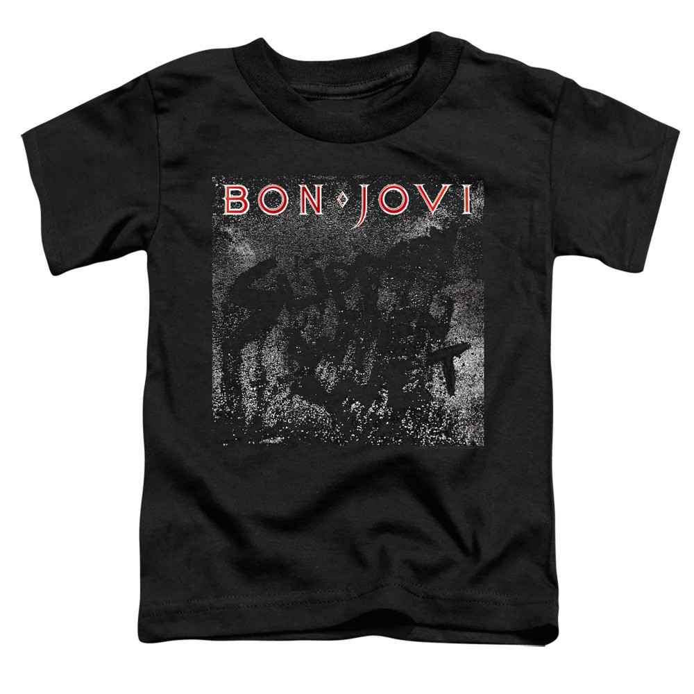 Bon Jovi Kids T-Shirt Band Name Black