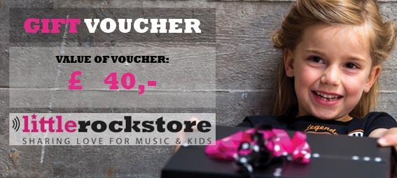 Gift Voucher £40,-