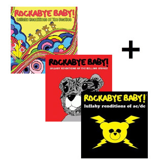 Giftset Rockabye Baby Classic Set
