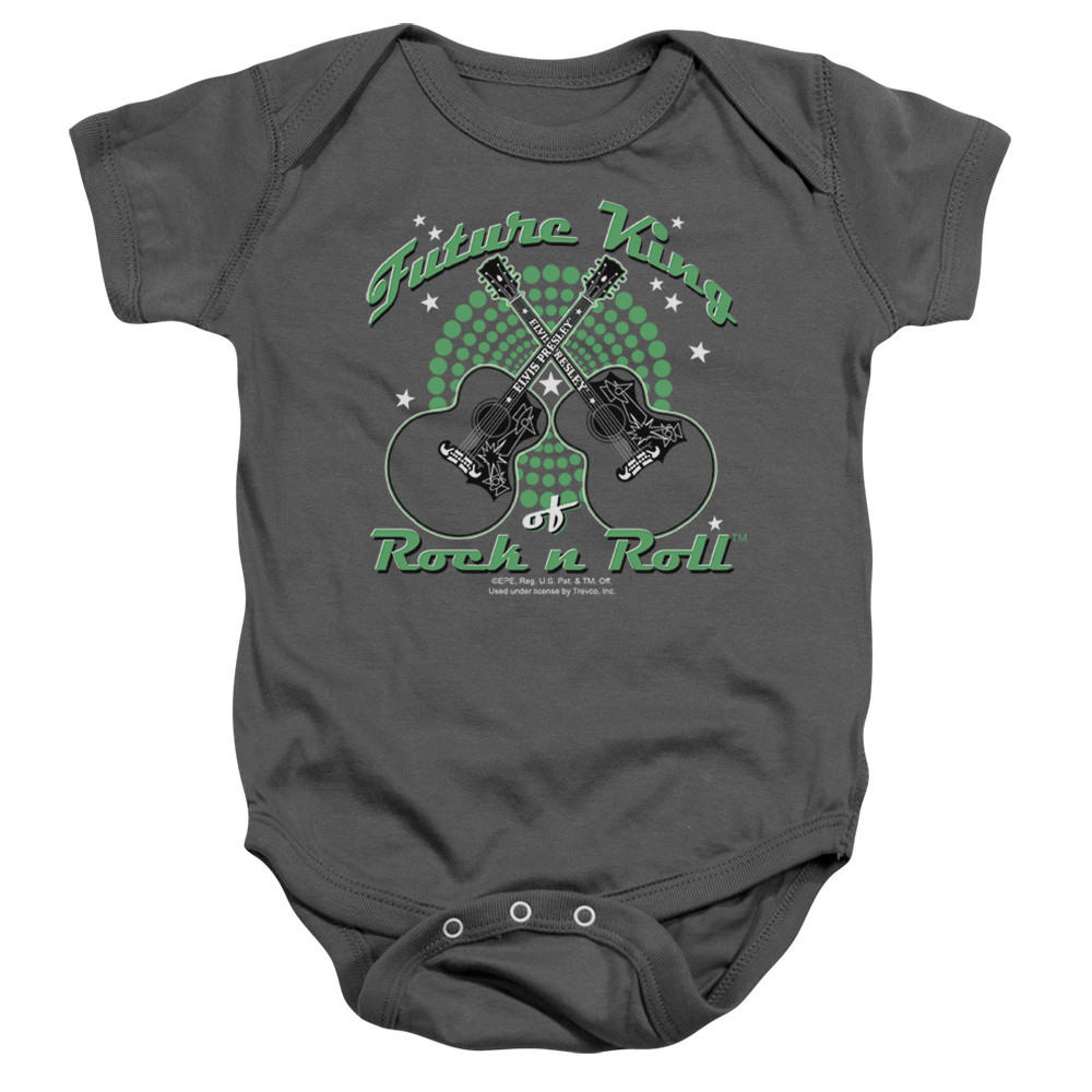 Elvis baby romper Future king