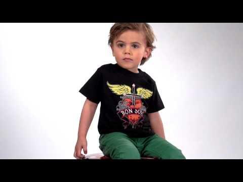 Bon Jovi Kids T-Shirt Heart Logo