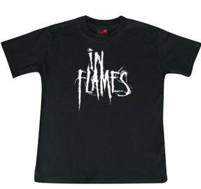 In Flames Kids T-shirt Logo