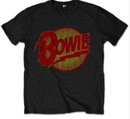 David Bowie Kids T-shirt Diamond Logo