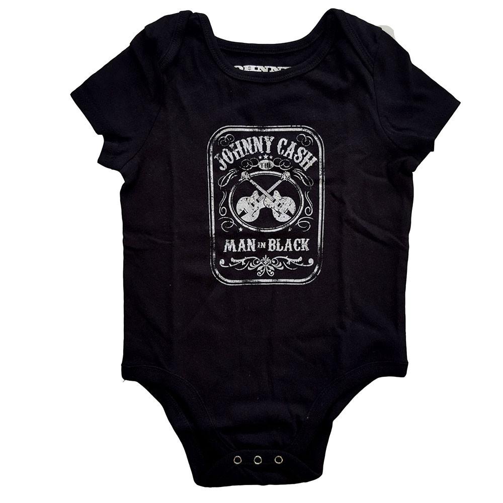 Johnny Cash Baby Grow Man in black