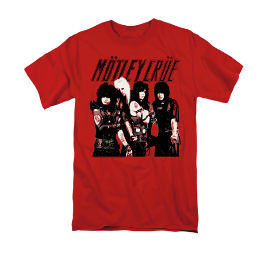 Motley Crüe T-Shirt Red
