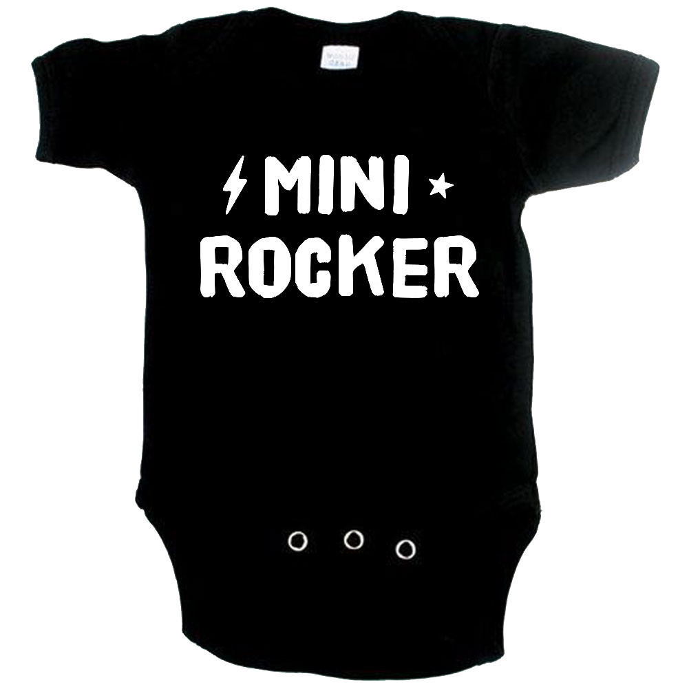 Rock babygrow mini rocker
