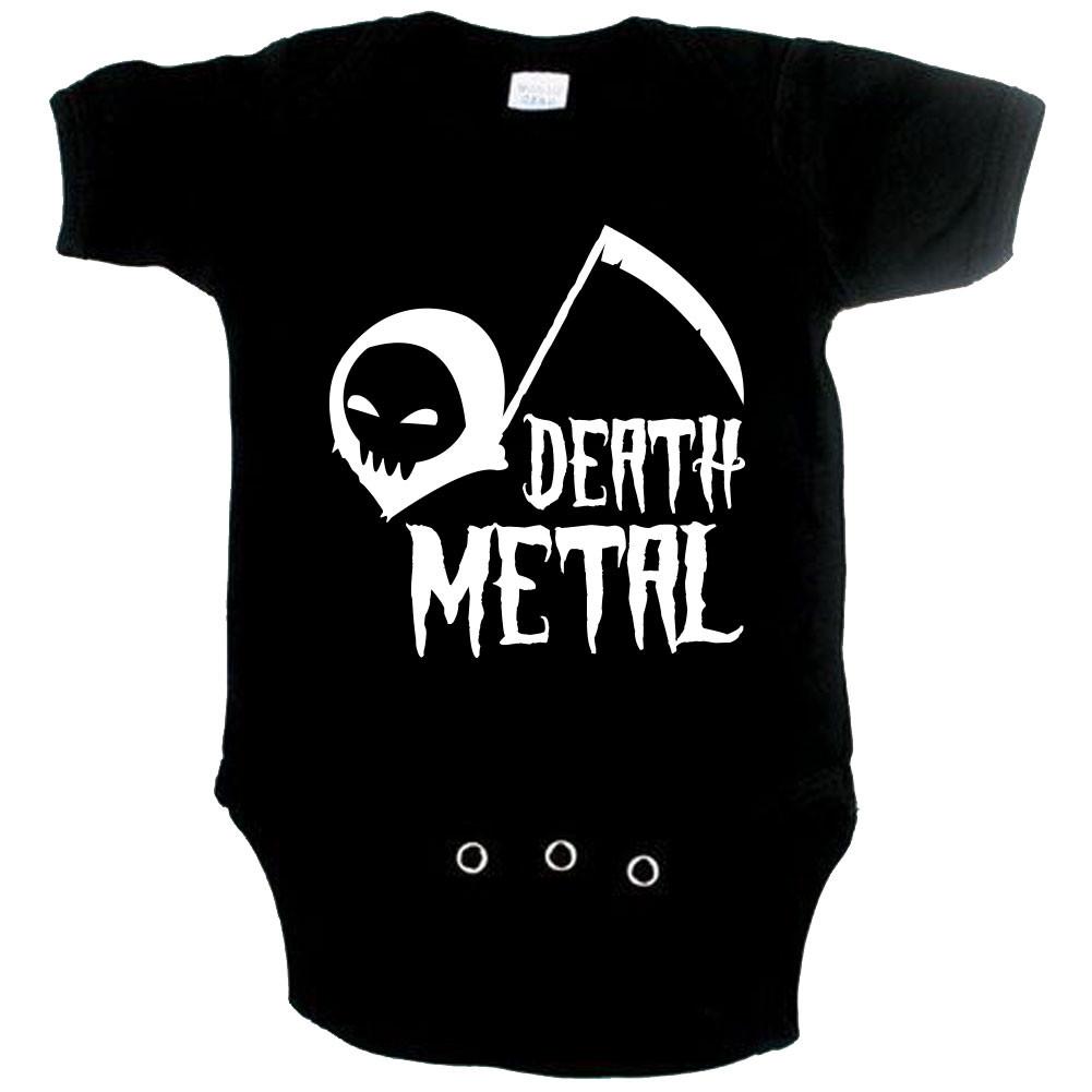 Metal babygrow death metal