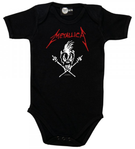 Metallica Baby Clothes - Scary Guy