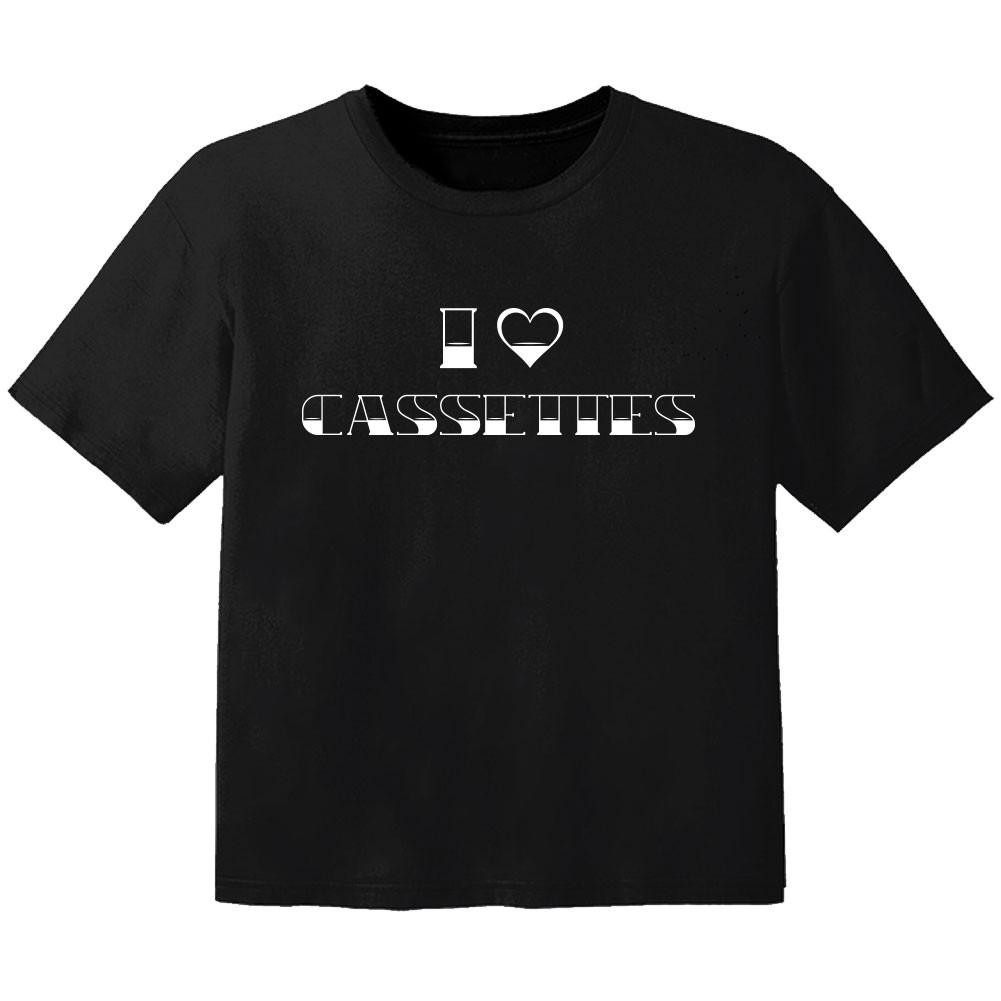 cool kids t-shirt I love cassetes