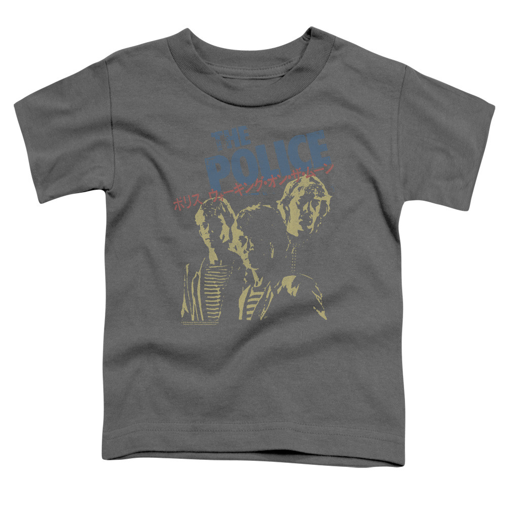 The Police Kids T-Shirt Logo Band