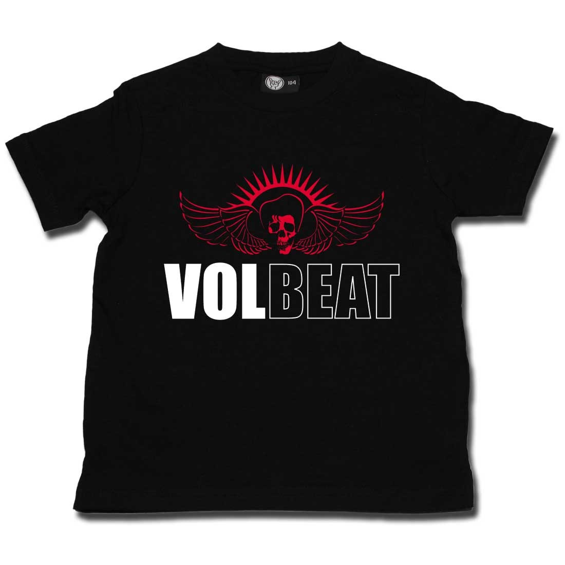 Volbeat Kids T-shirt Skullwing (Clothing)