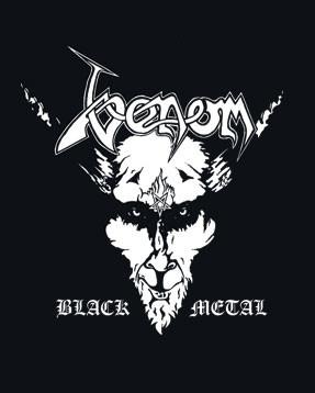 Venom Baby Grow Black Metal Venom