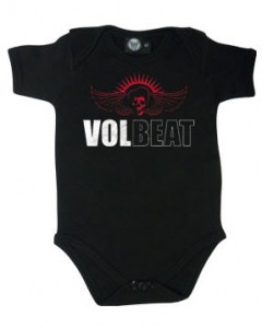 Volbeat Baby Grow Skullwing