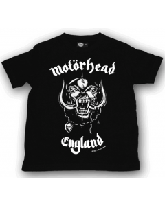 Motörhead Kids T-shirt England Motörhead