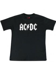 ACDC Kids T-Shirt Logo white ACDC