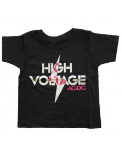ACDC Kids T-shirt High Voltage