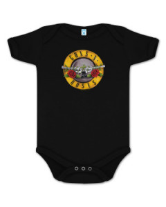 Guns and Roses Baby Grow Bullet