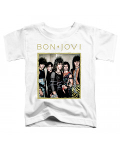 Bon Jovi Kids T-Shirt Photoshoot Band White