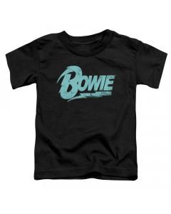 David Bowie Kids T-Shirt Logo Blue