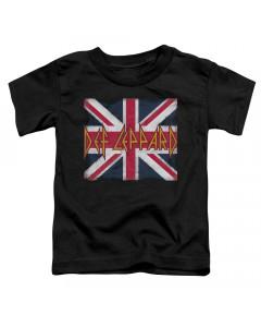 Def Leppard Kids T-Shirt Flag Print