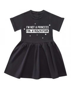 I'm not a princess I'm a rockstar Dress
