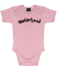Motörhead Baby Grow Logo Pink